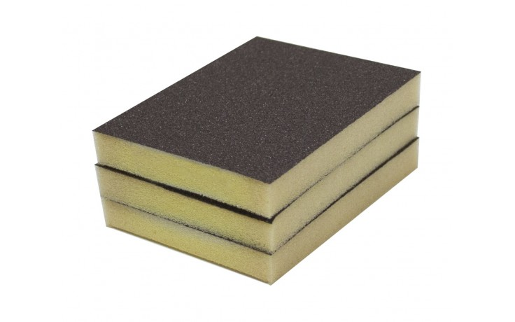 Solvent Free Eco 80 Grit Medium Single-Sided Sanding Pad - Bulk
