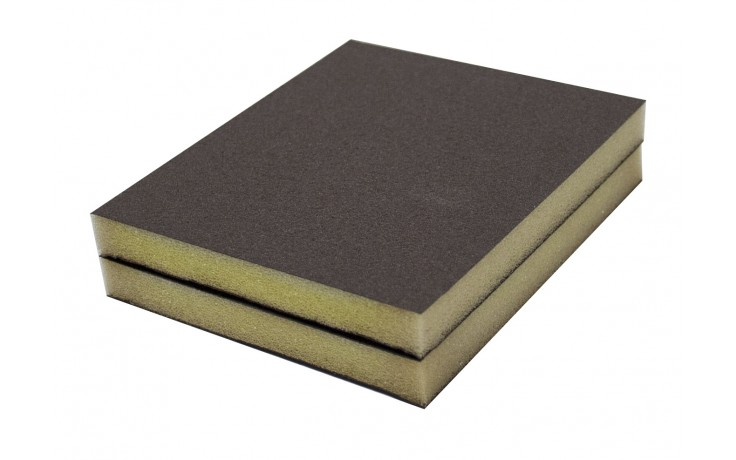 Solvent Free Eco 220 Grit Very Fine Double-Sided Sanding Pad - Bulk