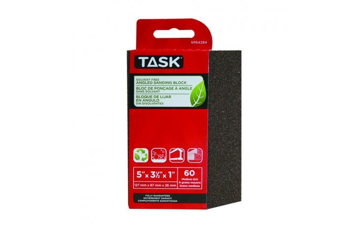 Solvent Free Eco 60 Grit Medium Angled Sanding Block - 1/pack