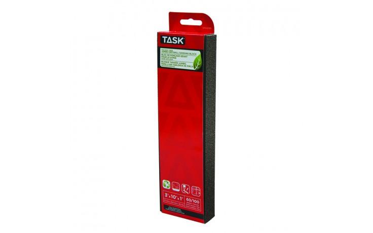 Solvent Free Eco 60 / 100 Grit Medium / Fine Jumbo Paint & Drywall Sanding Block - 1/pack