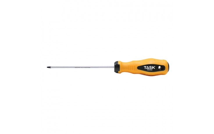 "#0 Square Recess 4"" Soft Grip Screwdriver - Bulk"