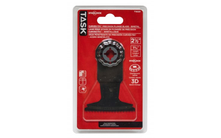 """2-1/2"""" Starlock HCS Curved-Tec Precision Plunge Blade - 1/pack"""