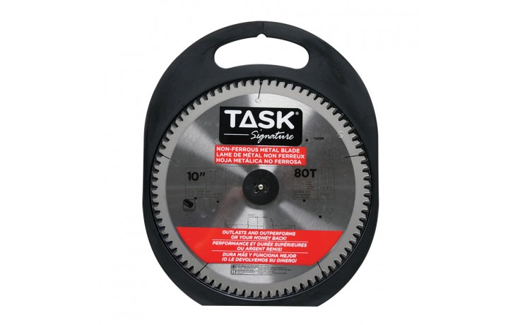 "10"" 80T TCG Non-Ferrous Metal Cutting Blade - 1/pack"