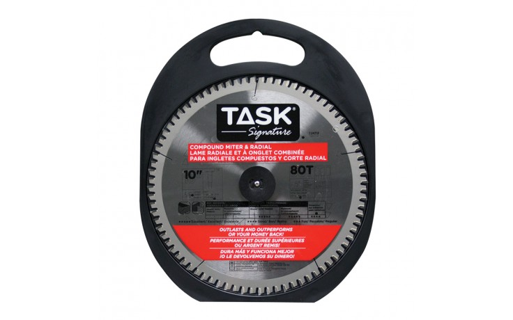 "10"" 80T 4ATB + 1TCG Compound Mitre Blade - 1/pack"