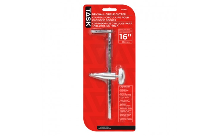 """16"""" Adjustable Drywall Circle Cutter - 1/pack"""