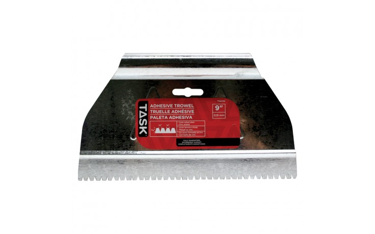 "9"" (3/16"" x 1/8"" x 1/8"") V-Notch Adhesive Spreader"