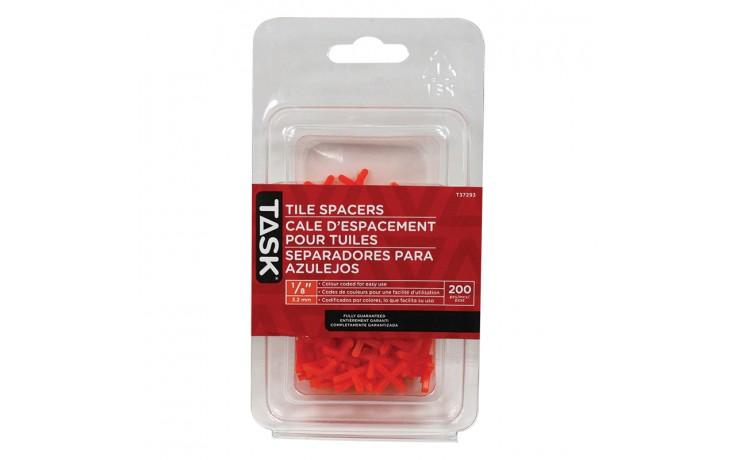 "1/8"" Tile Spacers - 200/pack"