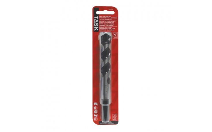 "3/4"" Reduced Shank (1/2"") Tungsten Carbide Multi-Purpse Drill Bit - 1/pack"