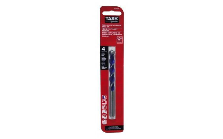 """3/8"""" Premium Multi-Purpose 4-Edge Carbide Drill Bit - 1/pk"""