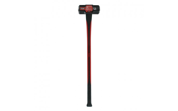 12 lb. Sledge Hammer with Fiberglass Handle