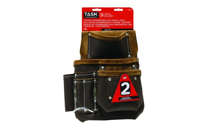 Master Carpenter 7 Pocket Right Side Tool Bag - 1/pack