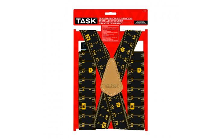 Full Elastic Tape Measure Pattern Suspenders - 1/pack