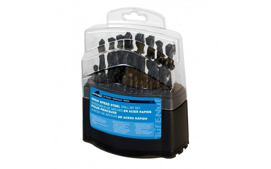 29pc HSS Drill Bit Set - Plastic Index Box