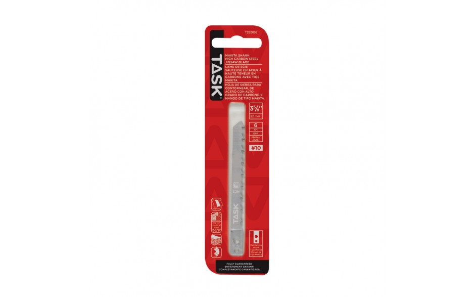 """3-5/8"""" 6 TPI Makita Shank Jigsaw Blade for Fine & Fast Wood up to 2-3/8"""" - 1/pack"""
