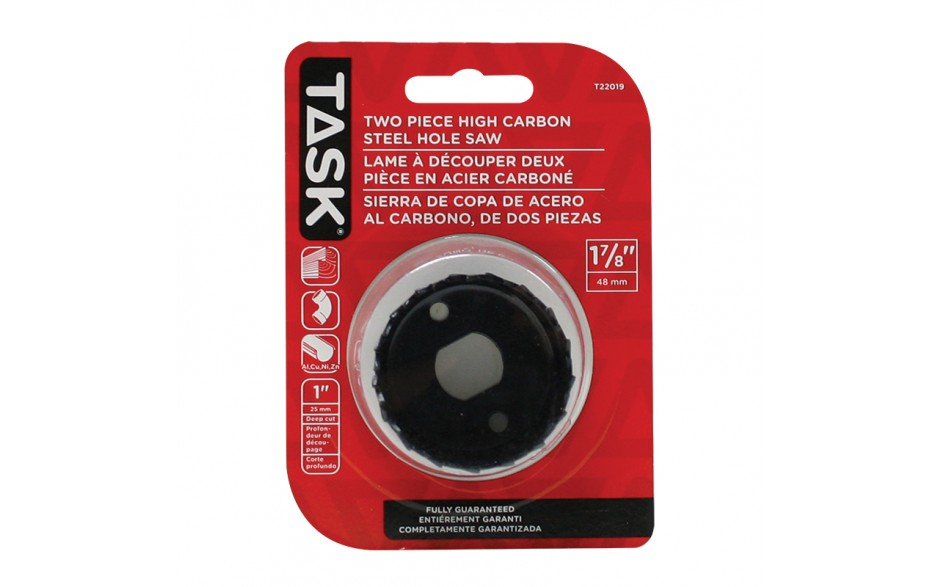 """1-7/8"""" Carbon Steel Hole Saw - 1/pack"""