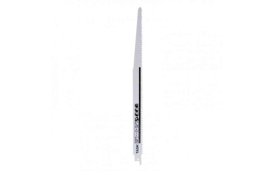 "12"" 6 TPI 0.050"" Reciprocating Blade for Wood & Nailed Wood - Fast - Bulk"