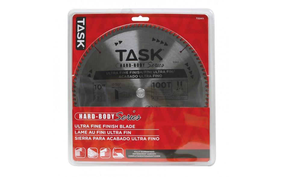 "10"" 100T ATB Hard Body Ultra Fine Finish Blade - 1/pack"