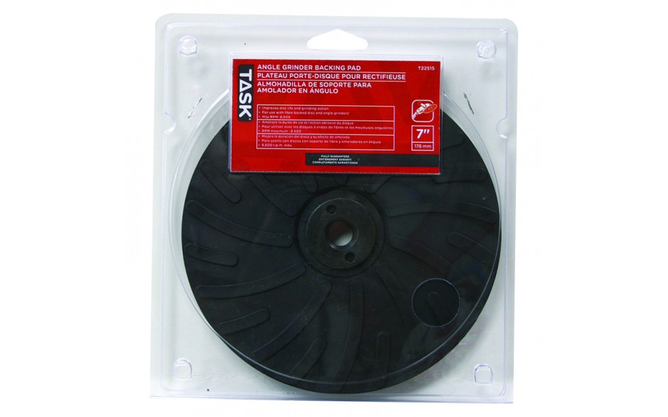 """7"""" Poly Backing Pad - 1/pack"""