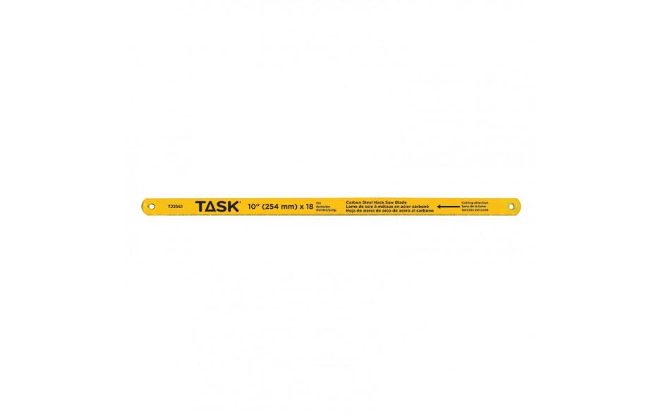 """10"""" 18 TPI Carbon Steel Hacksaw Blade - Bulk"""