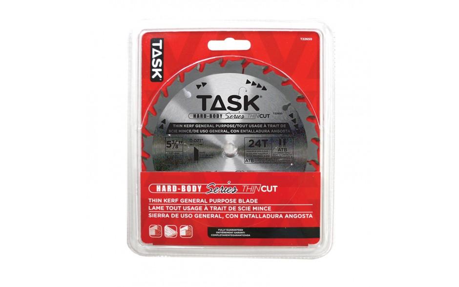 """5-3/8"""" 24T ATB Hardbody Thin Kerf General Purpose Blade - 1/pack"""