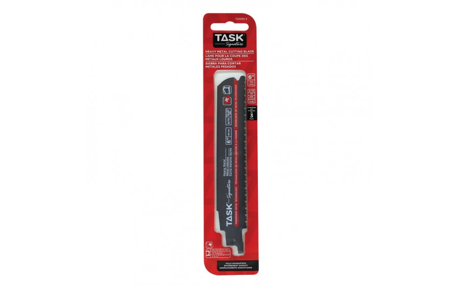 """6"""" 8/10 TPI 0.042"""" Reciprocating Blade for Metal Contours & Tubing - Fast - 3/pack"""