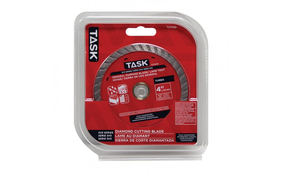 "4"" Turbo SVS Diamond Blade - 1/pack"