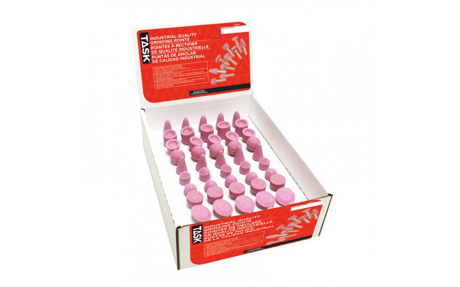 50pc Assorted Grinding Points - 50/Box