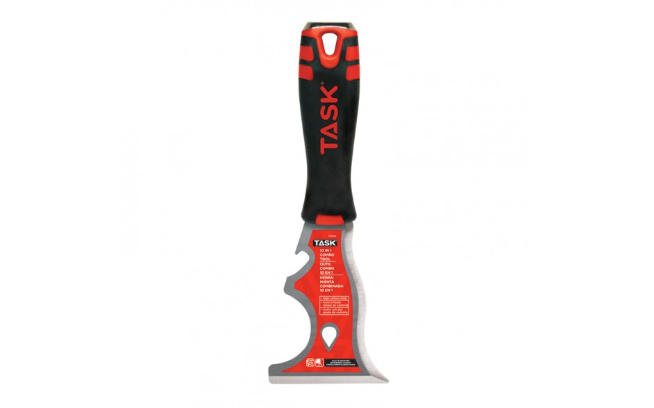 10-in-1 Stiff High Carbon Steel Combo Tool with FlexFit Grip & Hammer Cap