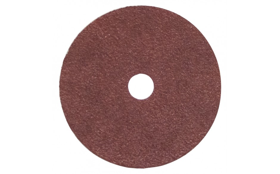 """4"""" 50 Grit Resin Bonded Fibre Sanding Disc - Bulk"""
