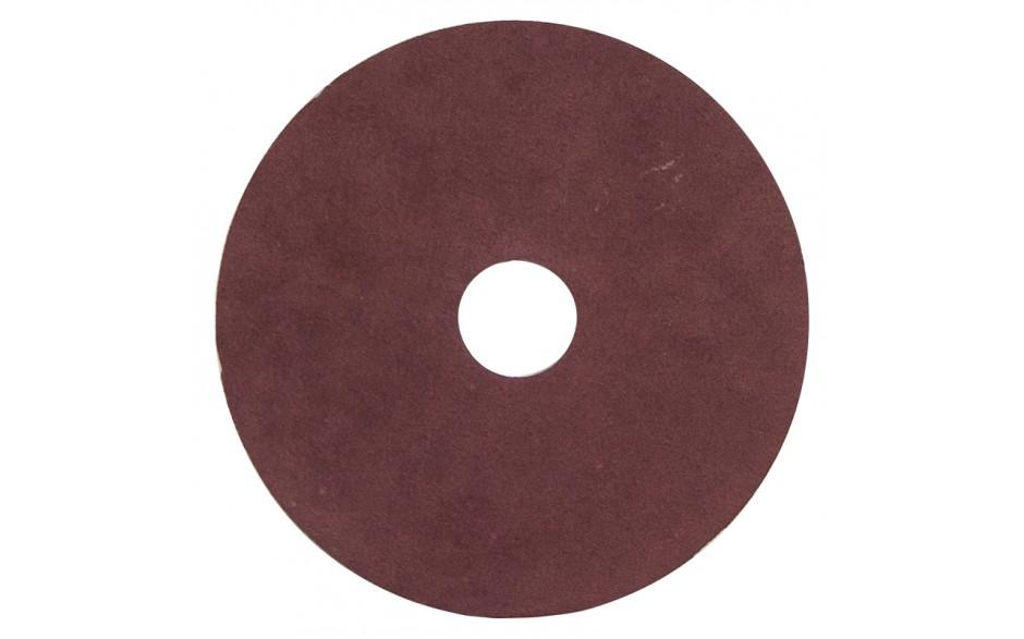 """4-1/2"""" 120 Grit Resin Bonded Fibre Sanding Disc - Bulk"""