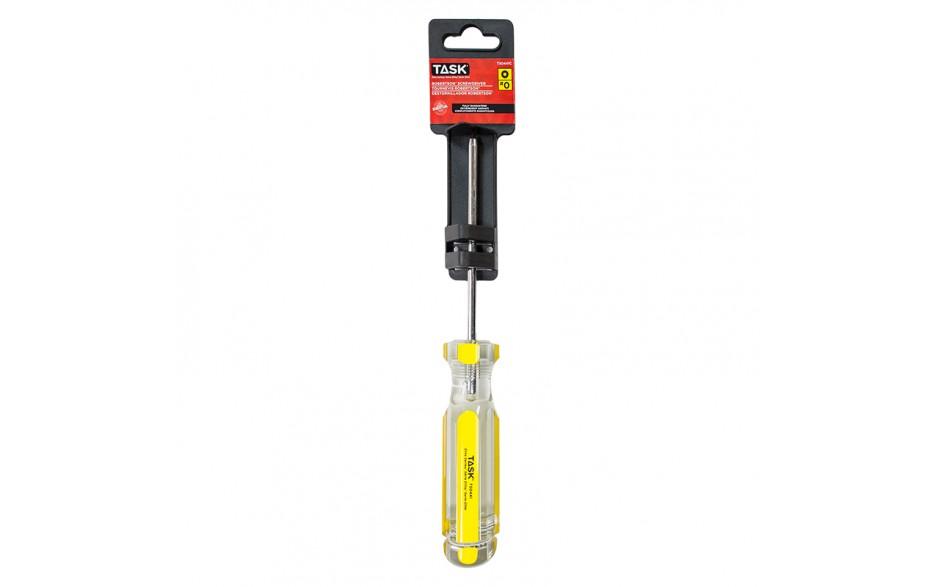 "#0 Robertson® 4"" Elite Acetate Hard Grip Screwdriver - 1/pack"