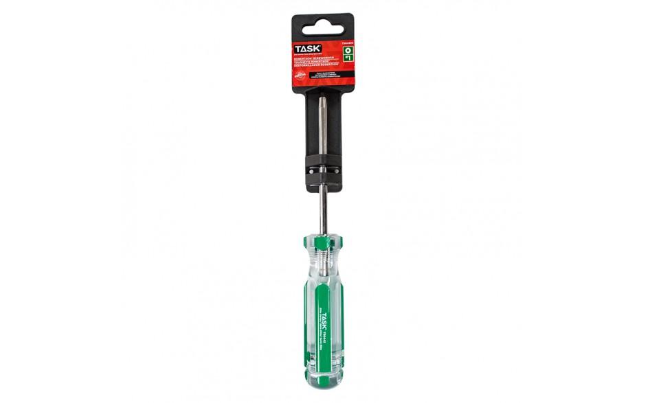"#1 Robertson® 4"" Elite Acetate Hard Grip Screwdriver - 1/pack"