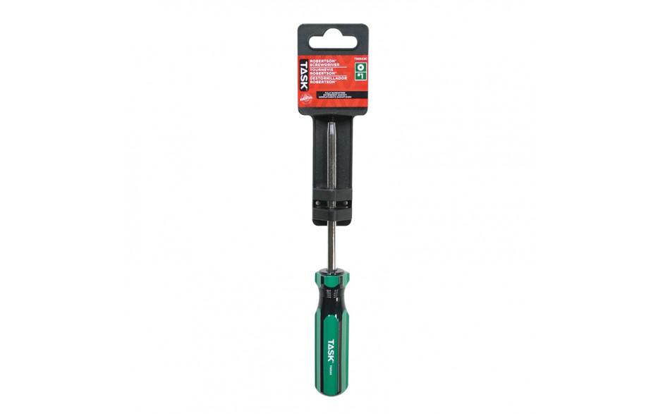 "#1 Robertson® 4"" Acetate Hard Grip Screwdriver - 1/pack"