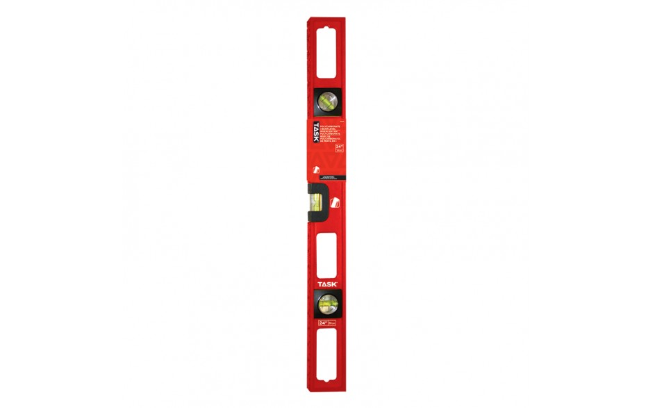 "24"" Polycarbonate I-Beam Level"