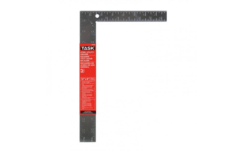 """12"""" Steel Utility Square (Embossed Markings)"""
