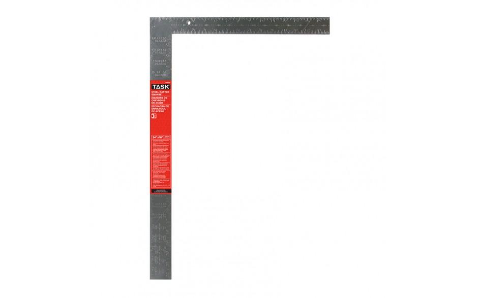 """24"""" Steel Rafter Square (Embossed Markings)"""