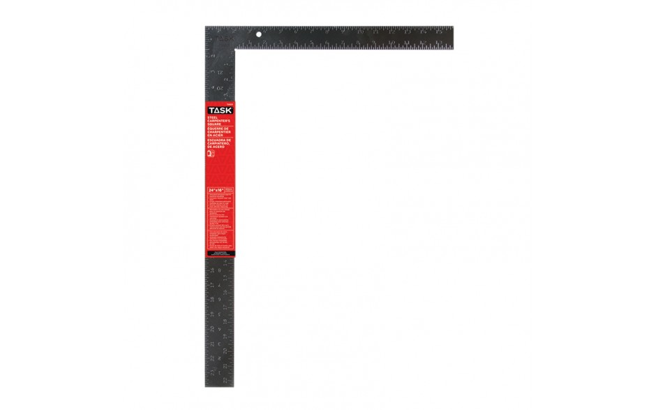 "24"" Steel Carpenter Square (Embossed Markings)"