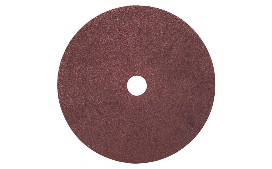 """7"""" 50 Grit Resin Bonded Fibre Sanding Disc - Bulk"""