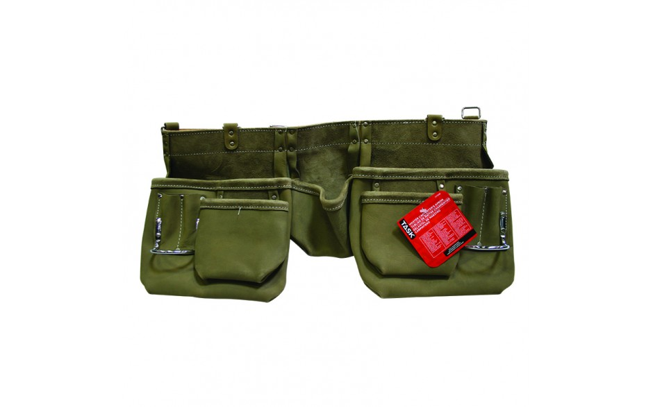 Olive Green 11 Pocket Master Carpenter PLUS Apron - 1/pack