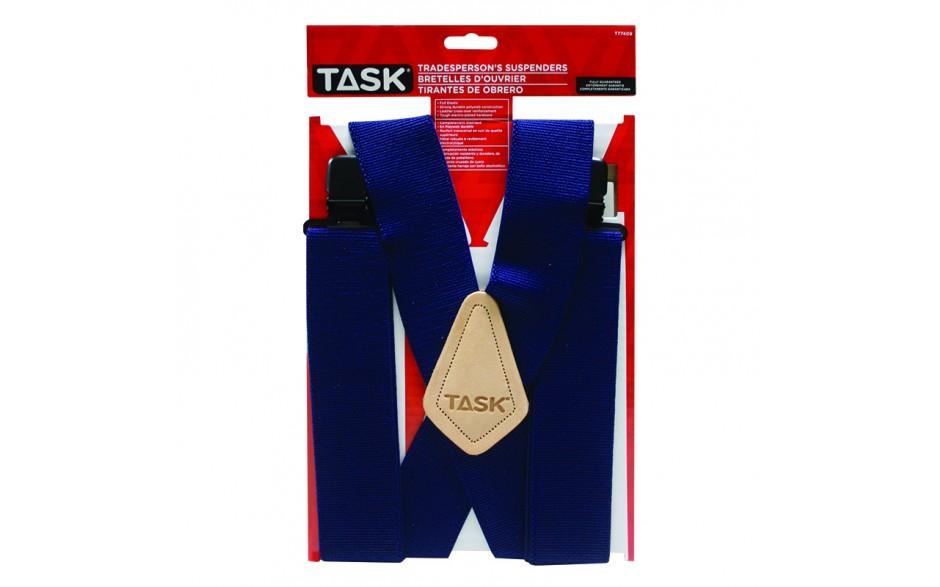 Full Elastic Navy Suspenders - 1/pack