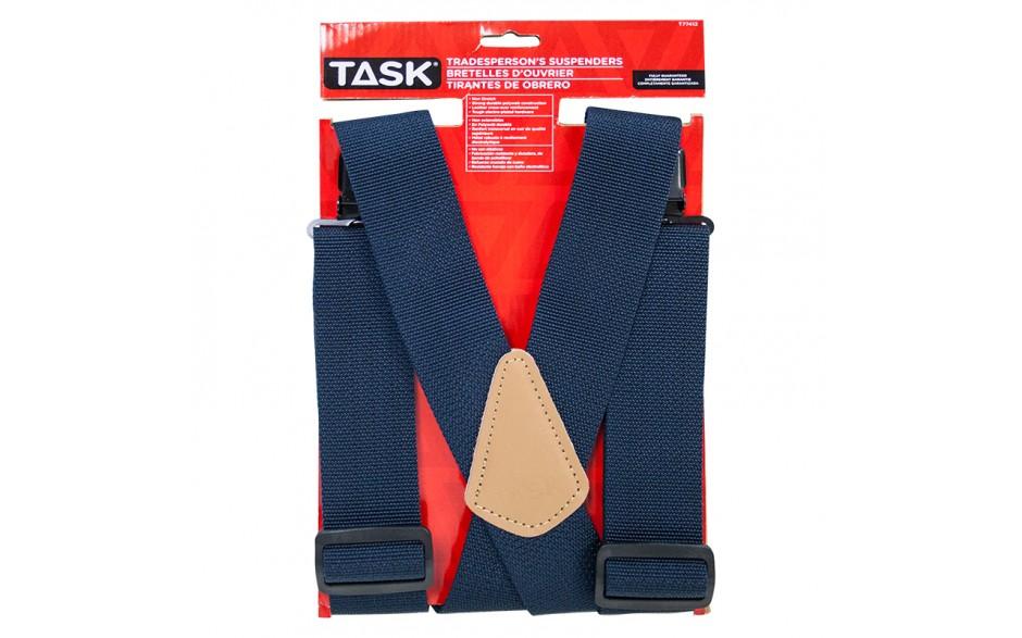 Non-Elastic Navy Suspenders - 1/pack