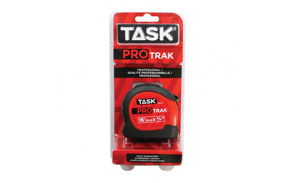 "16' (5m) x 3/4"" ProTrak Tape Measure - 1/pack"