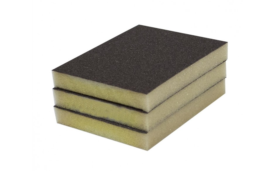 Solvent Free Eco 100 Grit Fine Single-Sided Sanding Pad - Bulk