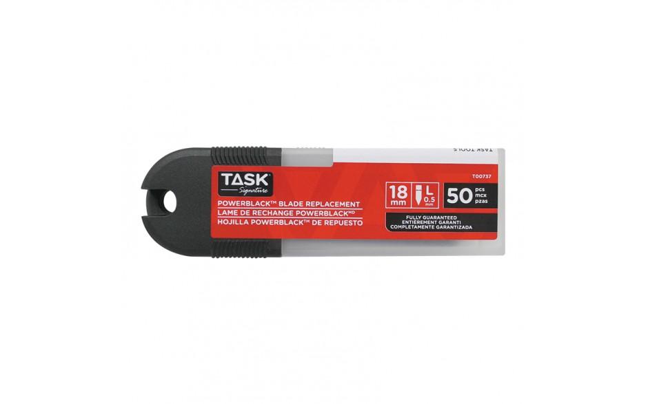18 mm PowerBlack Snap-Off Blades - 50/pack