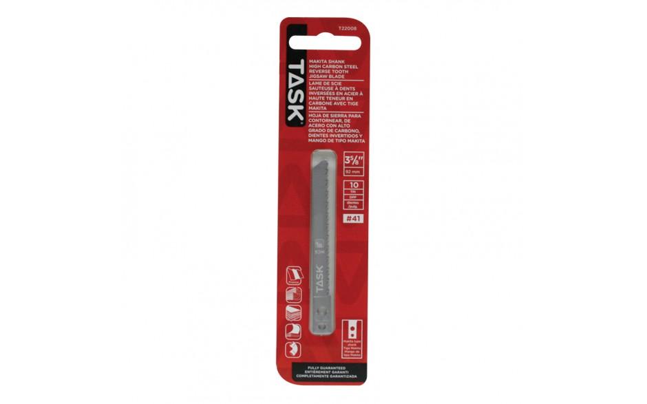 "3-5/8"" 10 TPI Makita Shank Reverse Tooth Jigsaw Blade for Fine Lam & Veneer - 1/pack"