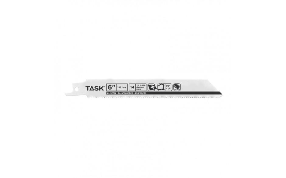 "6"" 14 TPI 0.035"" Reciprocating Blade for Metal Contours & Tubing 1/8""-1/4"" - Bulk"