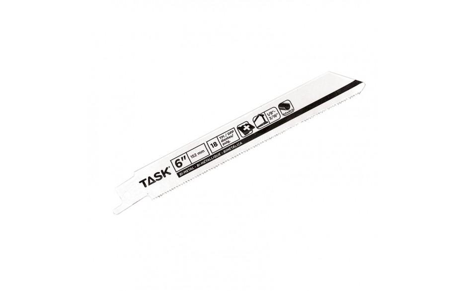 "6"" 18 TPI 0.035"" Reciprocating Blade for Metal Contours & Tubing 1/8""-3/16"" - Bulk"