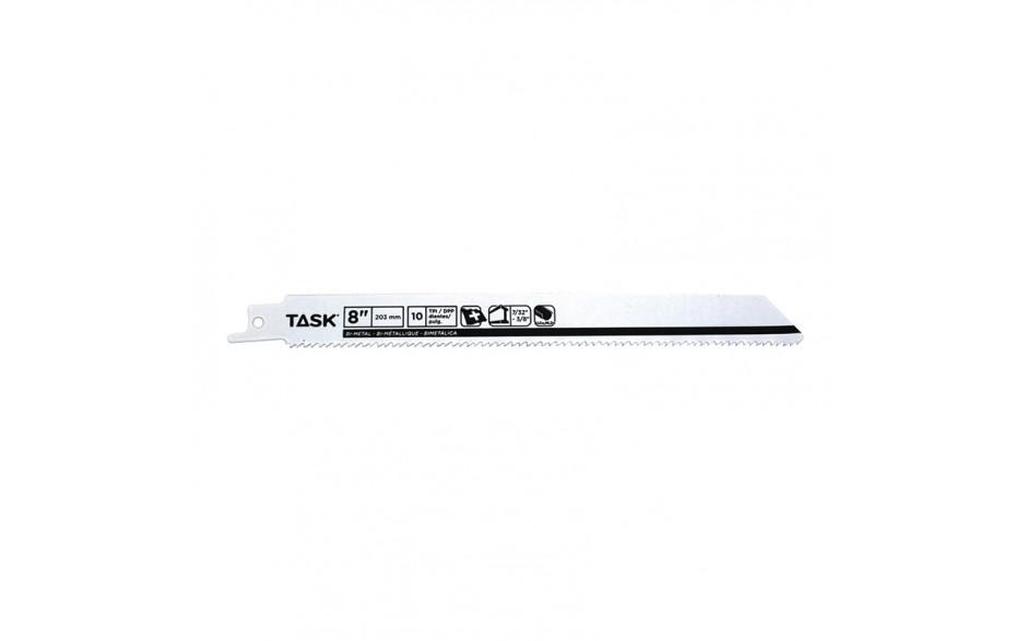 "8"" 10 TPI 0.035"" Reciprocating Blade for Metal Contours & Tubing 7/32""-3/8"" - Bulk"
