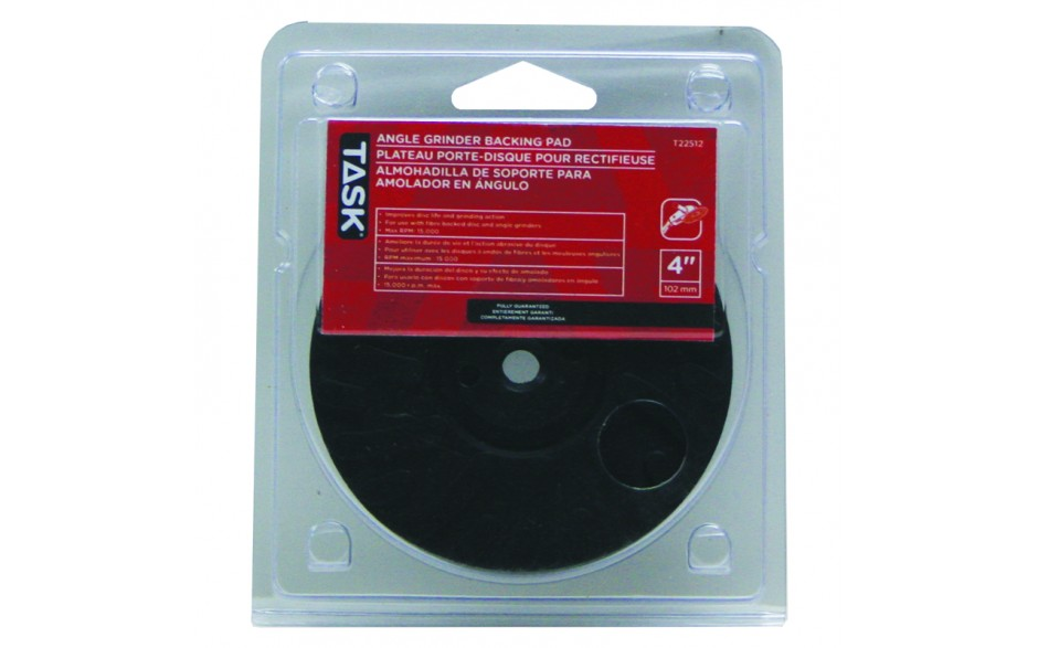 """4"""" Poly Backing Pad - 1/pack"""