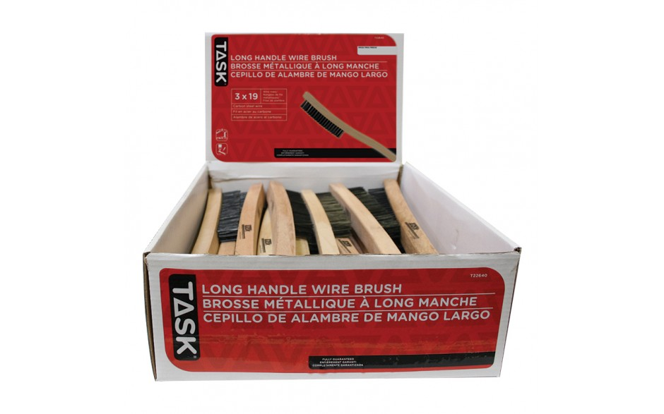 3 x 19 Long Handle Wire Brush